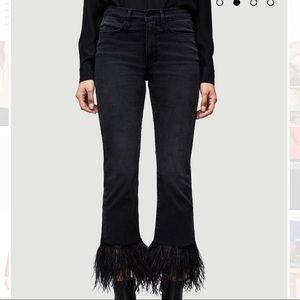 Frame feather jeans